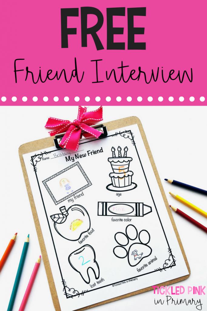 FREE friendship interview