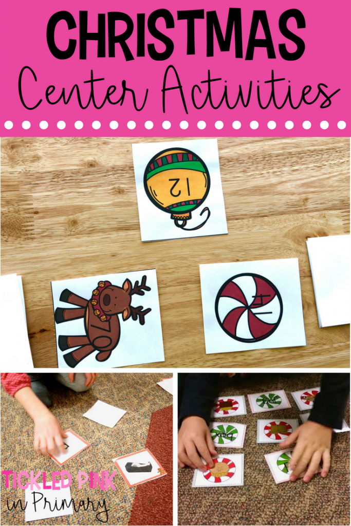 Christmas Activities Centers 01