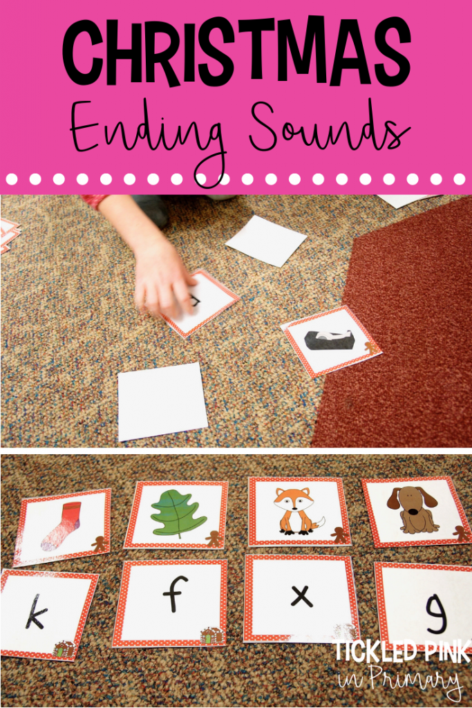 Christmas Activities Centers - Christmas Ending Sounds Game