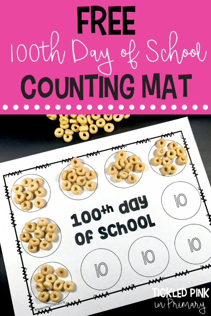 100th Day of School - Counting Mat