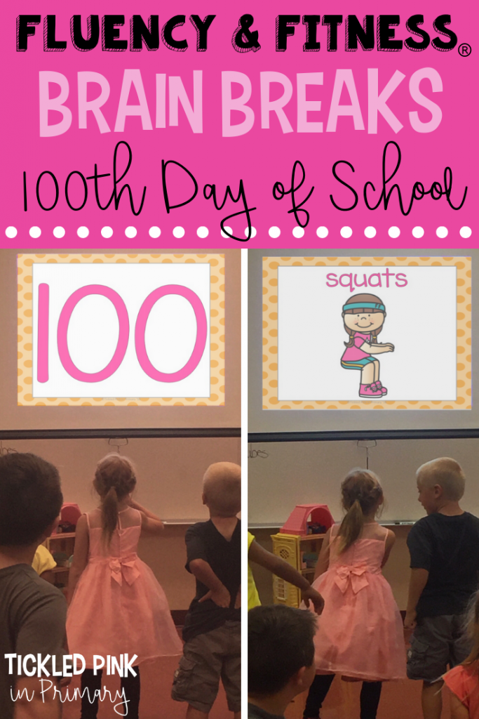 Brain Breaks 100th Day of School
