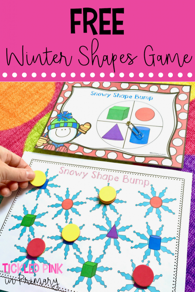 Free Winter Shapes Game