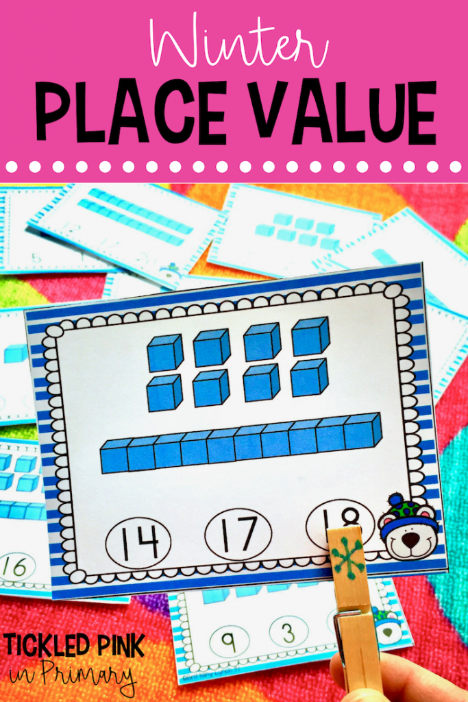 Winter Place Value - Winter Activity Center