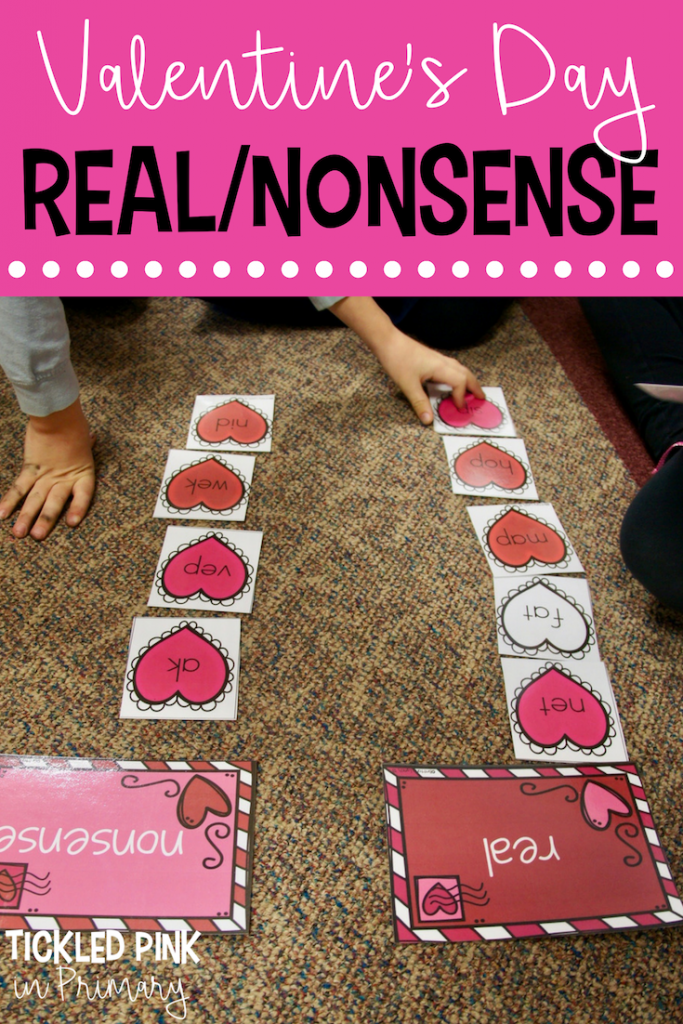 Valentine's Day Activities - Real/Nonsense