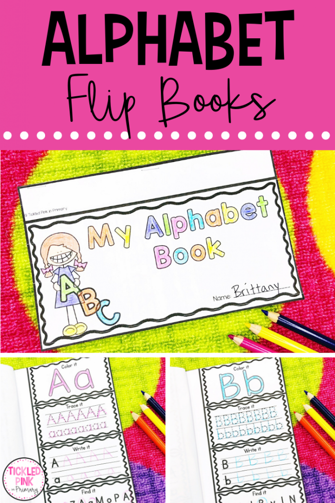 alphabet book to trace letters