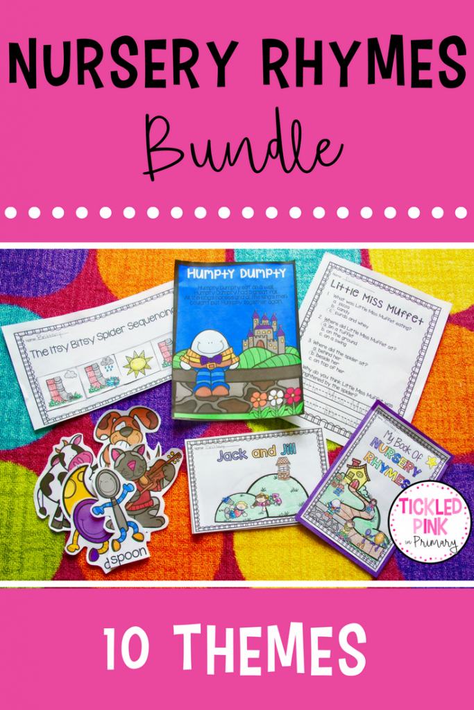 nursery rhyme activities collage