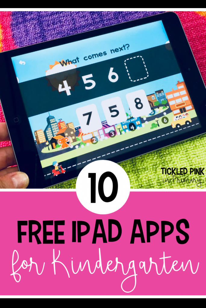 10 Free Kindergarten iPad Apps