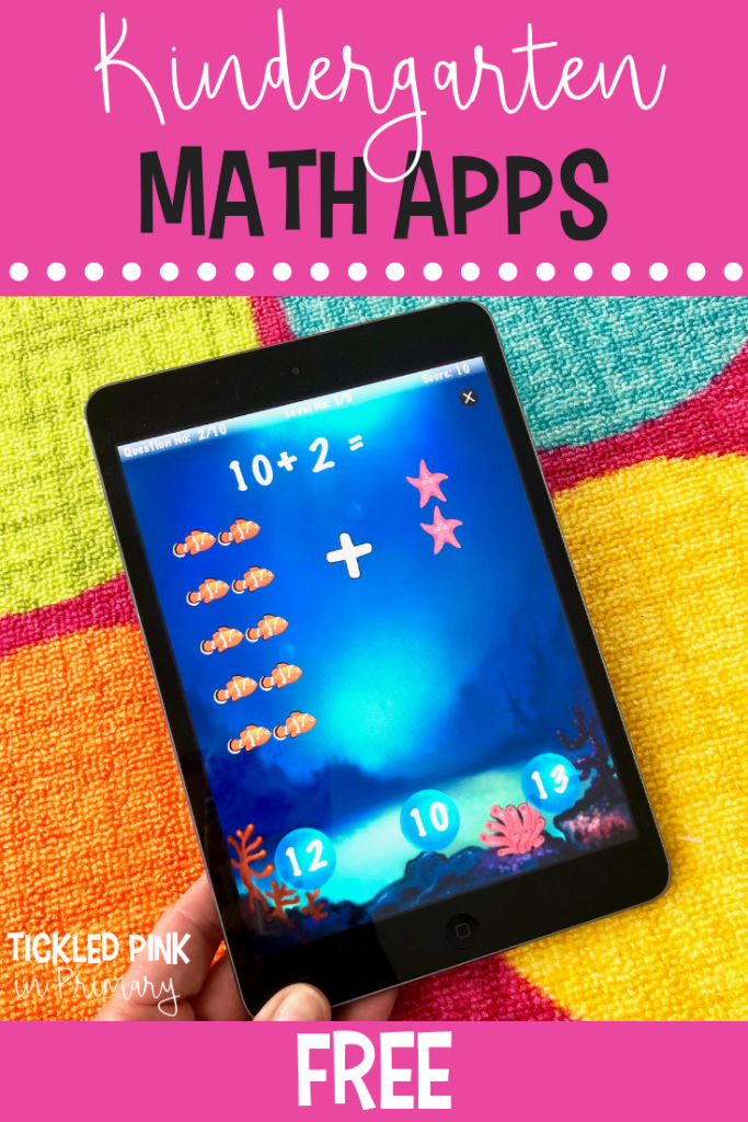 Free Kindergarten iPad apps - Math Apps