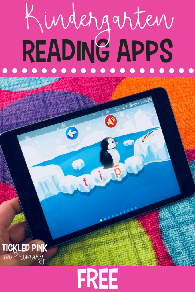 Free Kindergarten iPad apps - Free Reading Apps