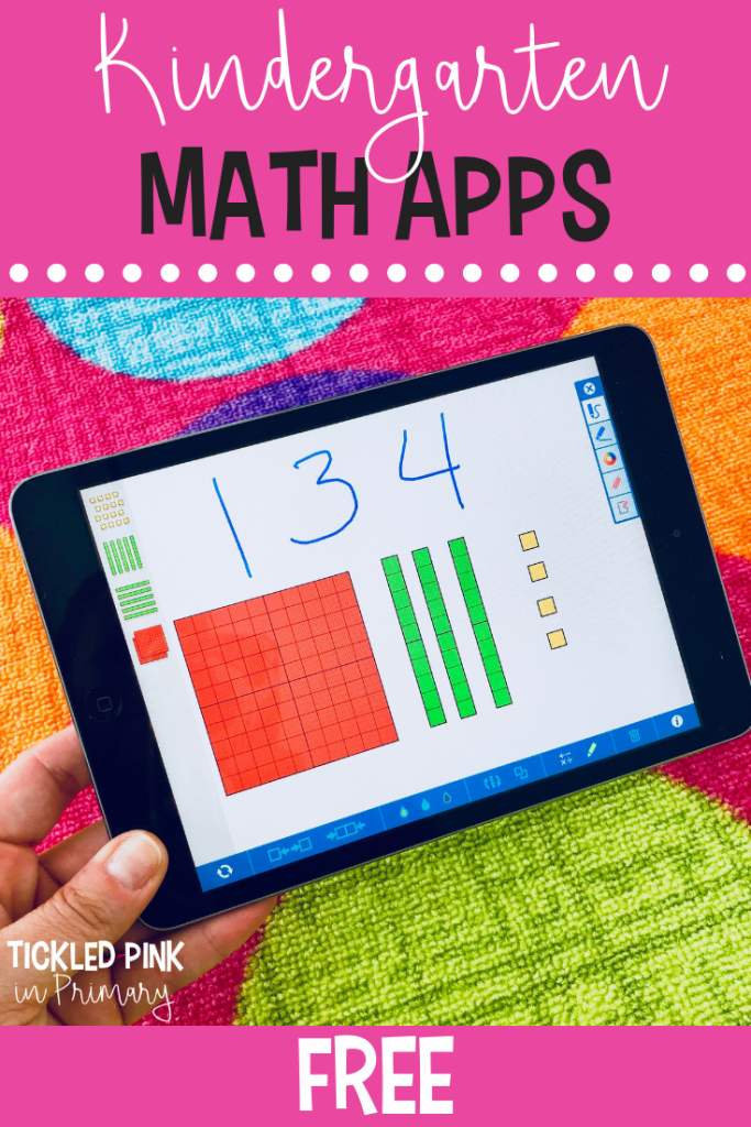 FREE Kindergarten iPad Apps - Free Math Apps