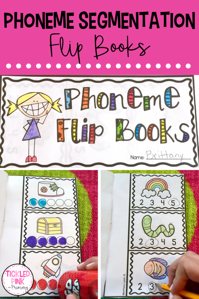 Phoneme Segmentation - Flip Books