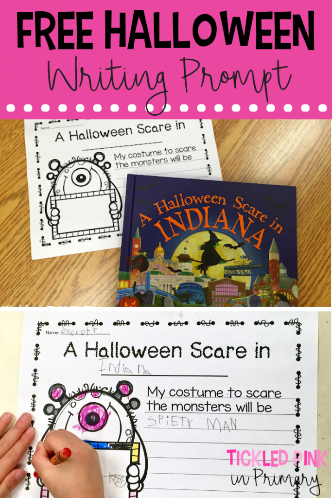 Halloween Book - Free Halloween Writing Prompt