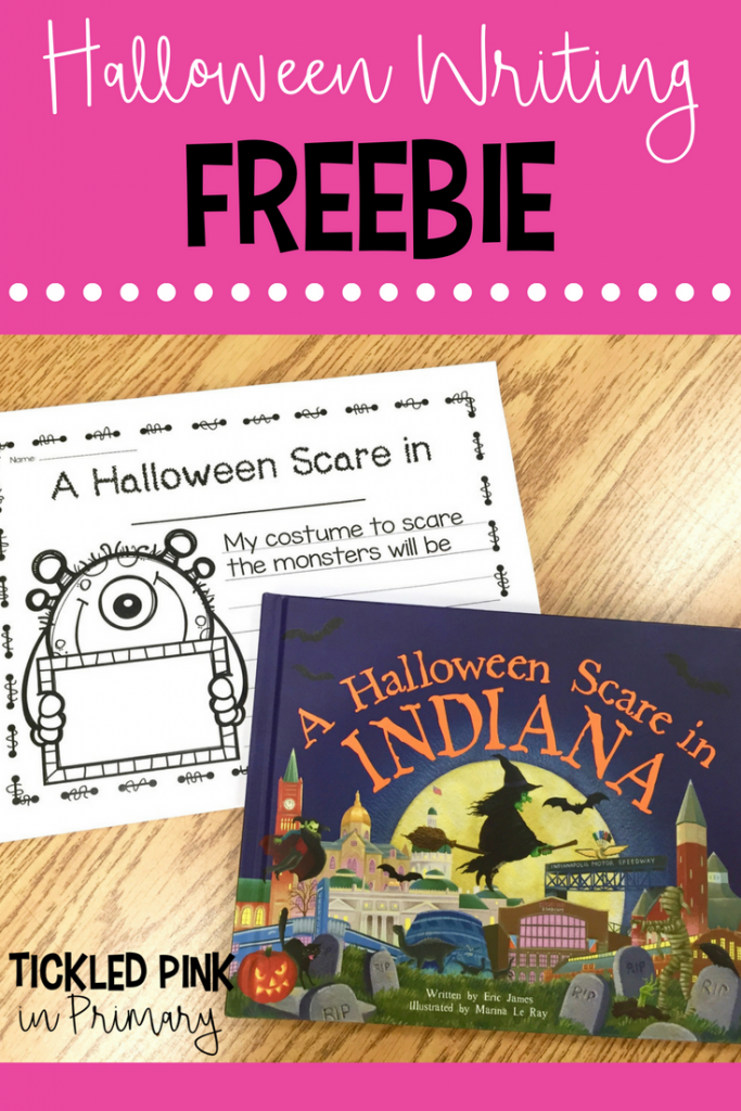 Halloween Book - Halloween Writing Freebie
