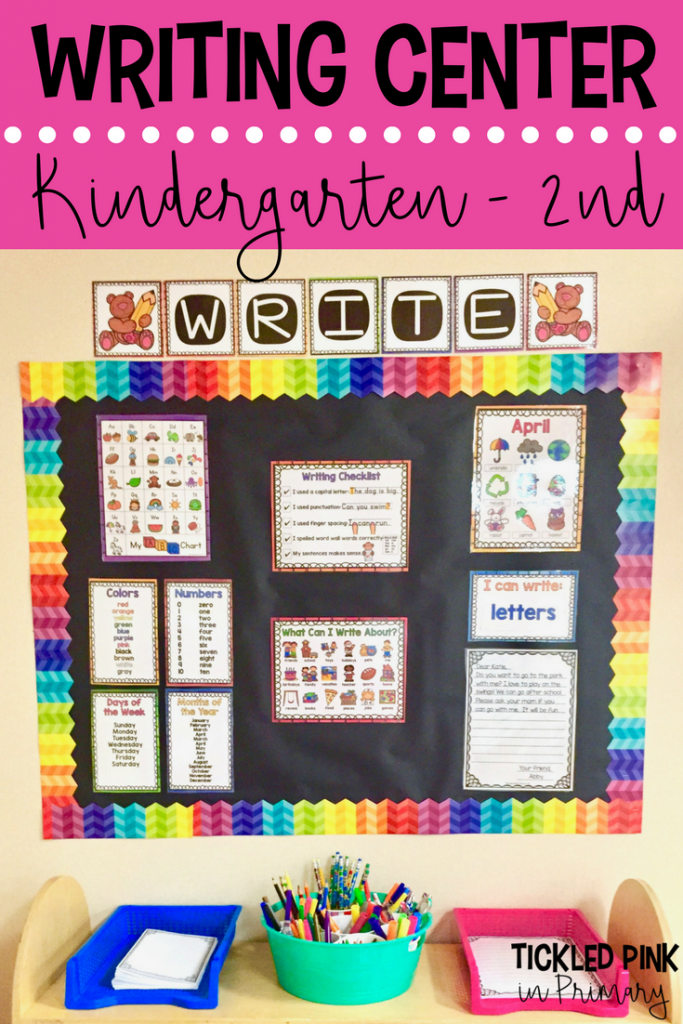 Classroom Writing Center - Kindergarten 2nd