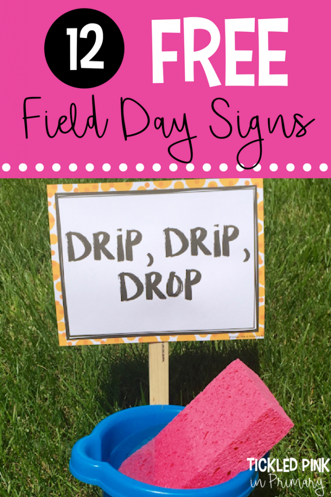 Field Day Games - Drip, Drip, Drop