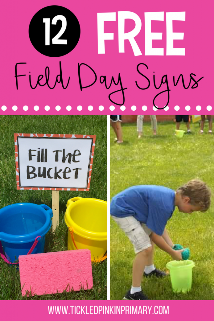 Field Day Games - Freebies