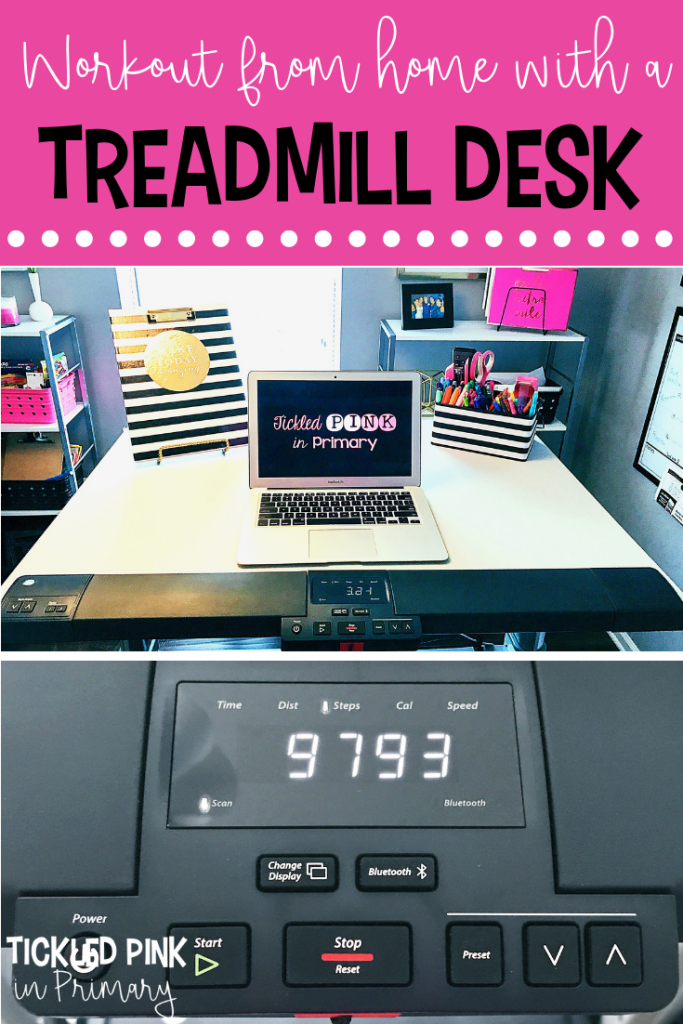 Workout From Home With A Treadmill Desk