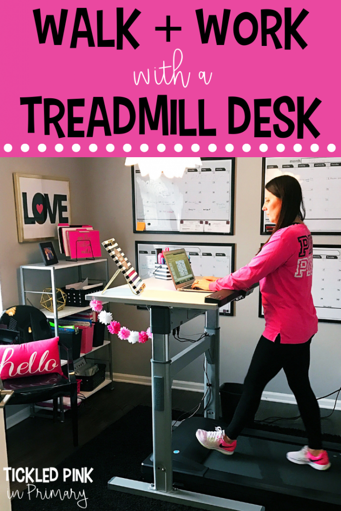 Walk and Work With A Treadmill Desk