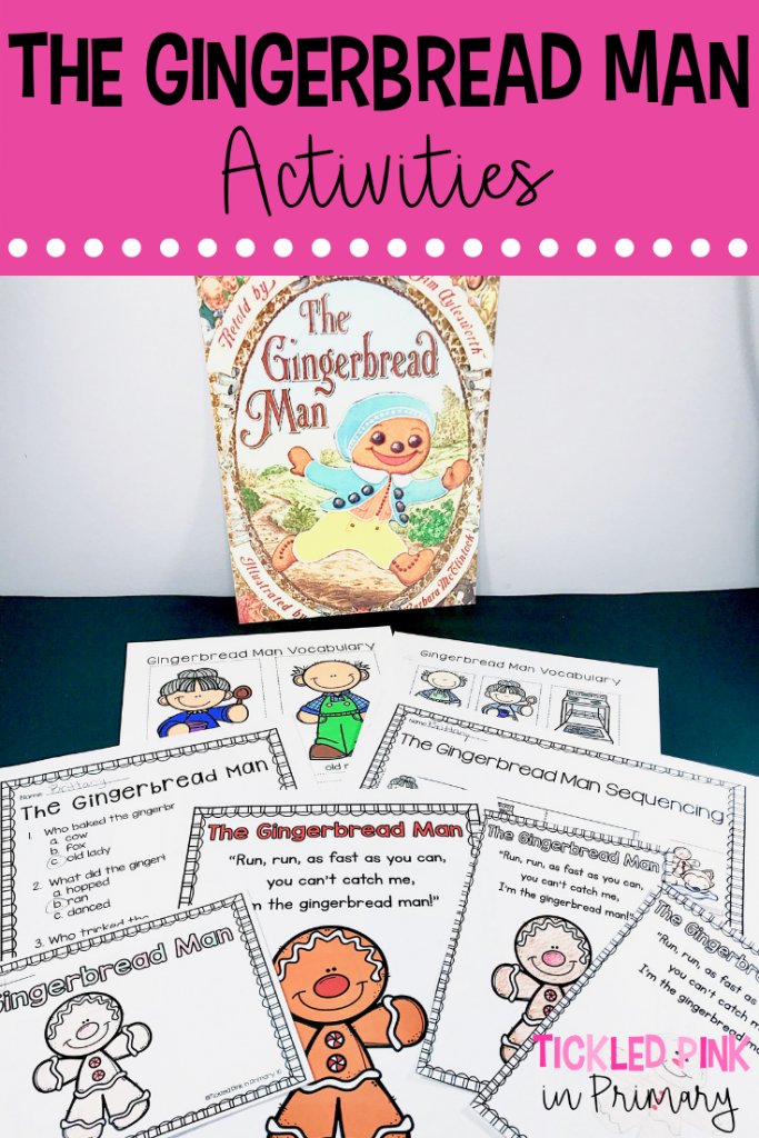Winter Books - The Gingerbread Man Activities