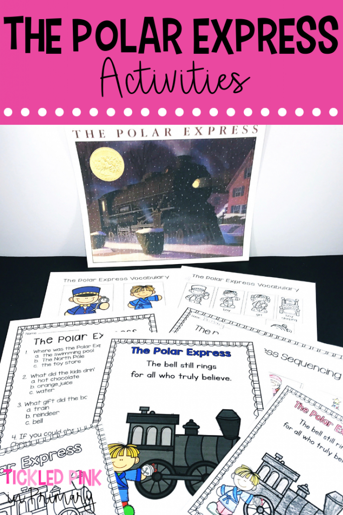 Winter Books - The Polar Express Activities