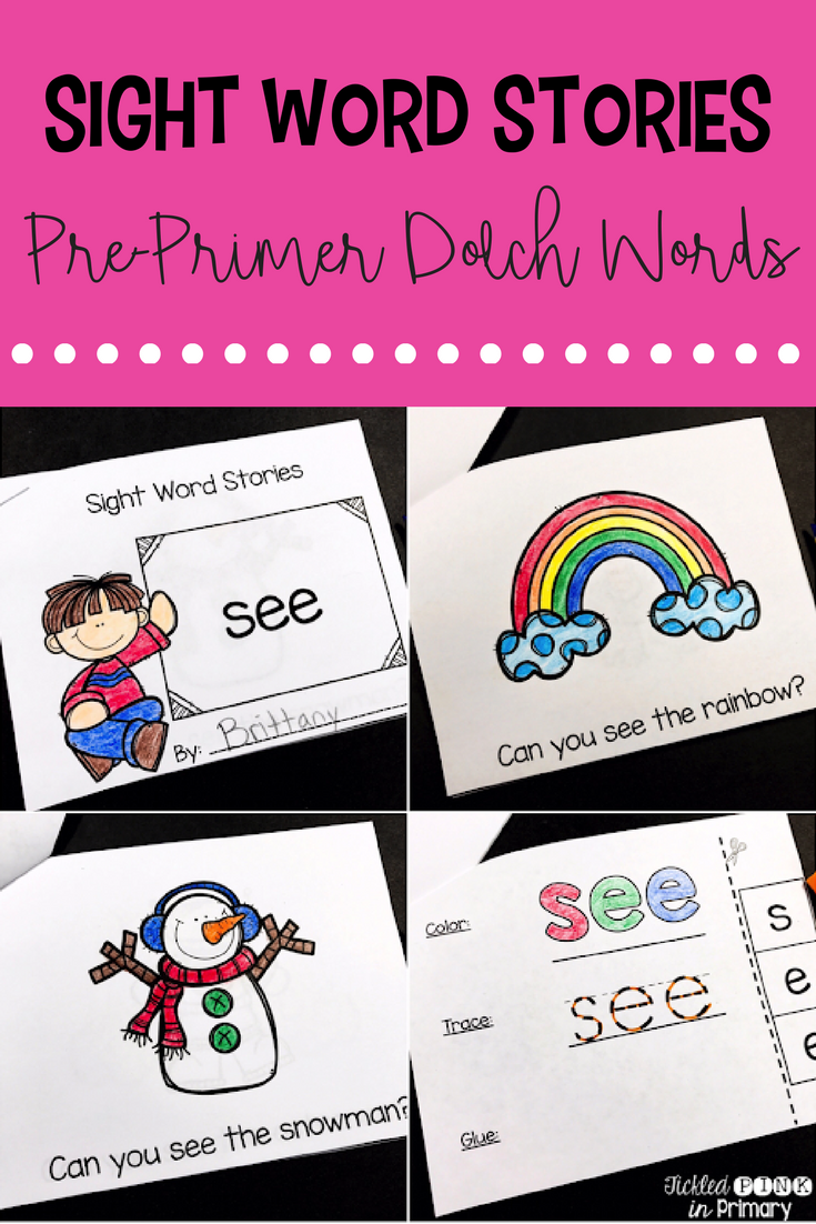 Sight Word Books -  Sight Word Stories