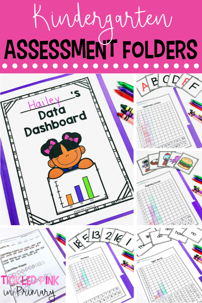 Kindergarten Assessments Folders