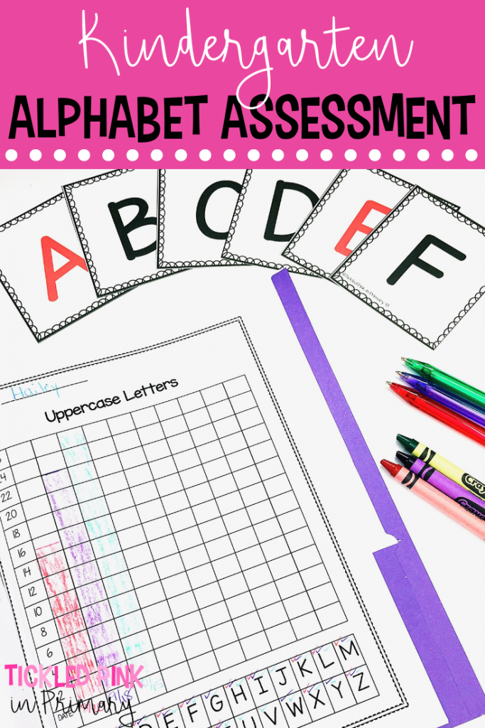 Kindergarten Assessments - Kindergarten Alphabet Assessment