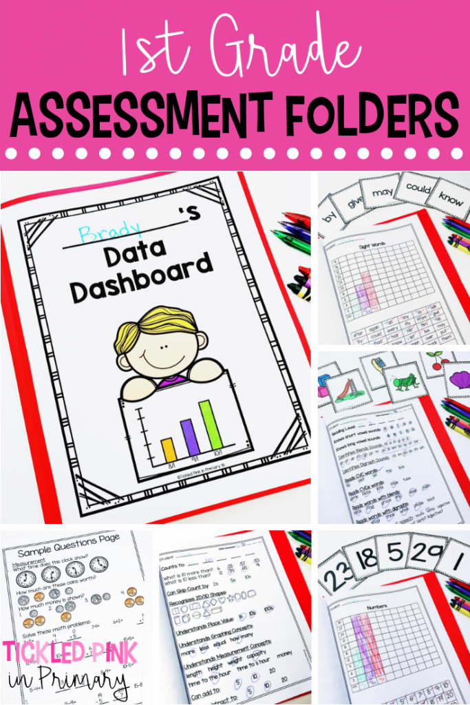 1st Grade Assessment Folders