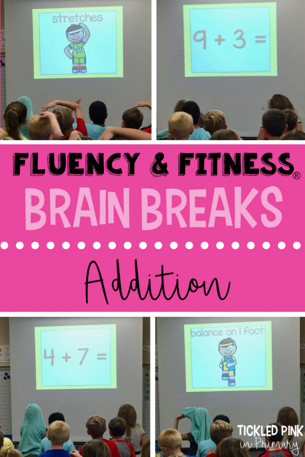 addition math facts fluency and fitness brain breaks examples