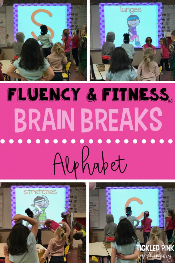 alphabet letters fluency and fitness brain breaks