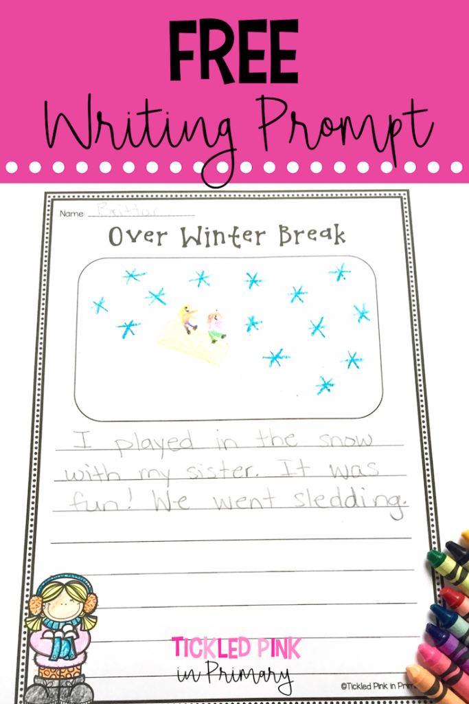 Winter Break- Free Writing Prompt