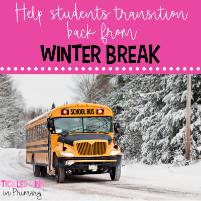 help students transition back from winter break