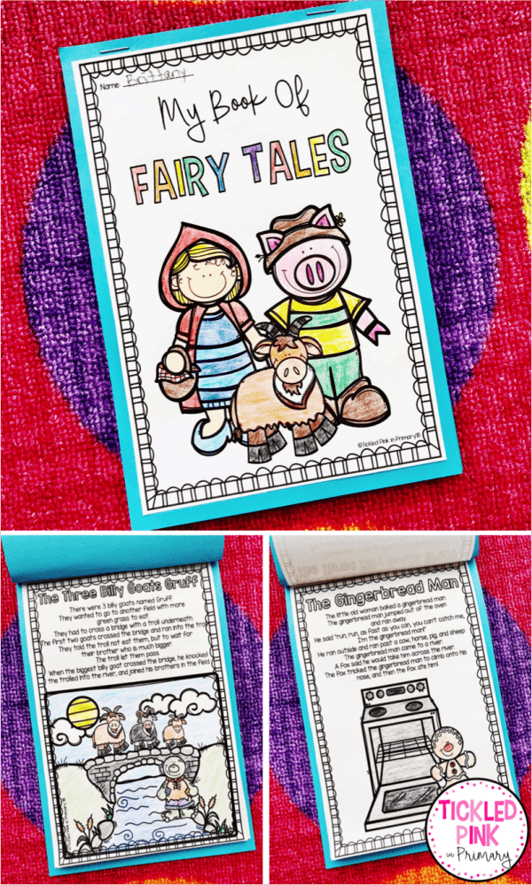 fairy tales activities student book