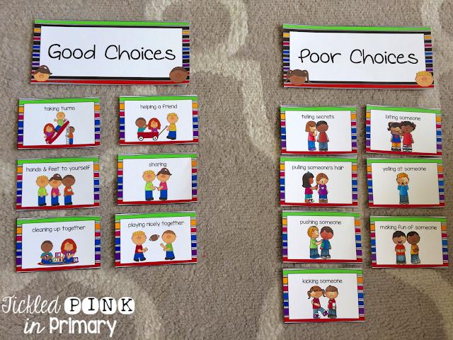 Good Choice | Poor Choice