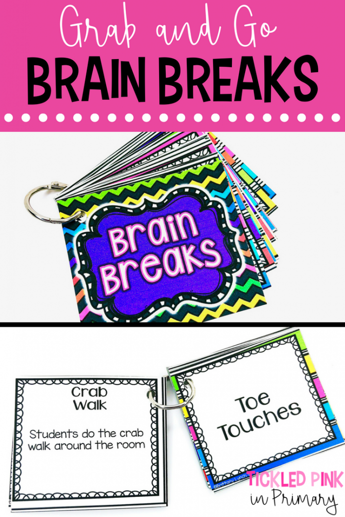 Winter Break - Grab And Go Brain Breaks