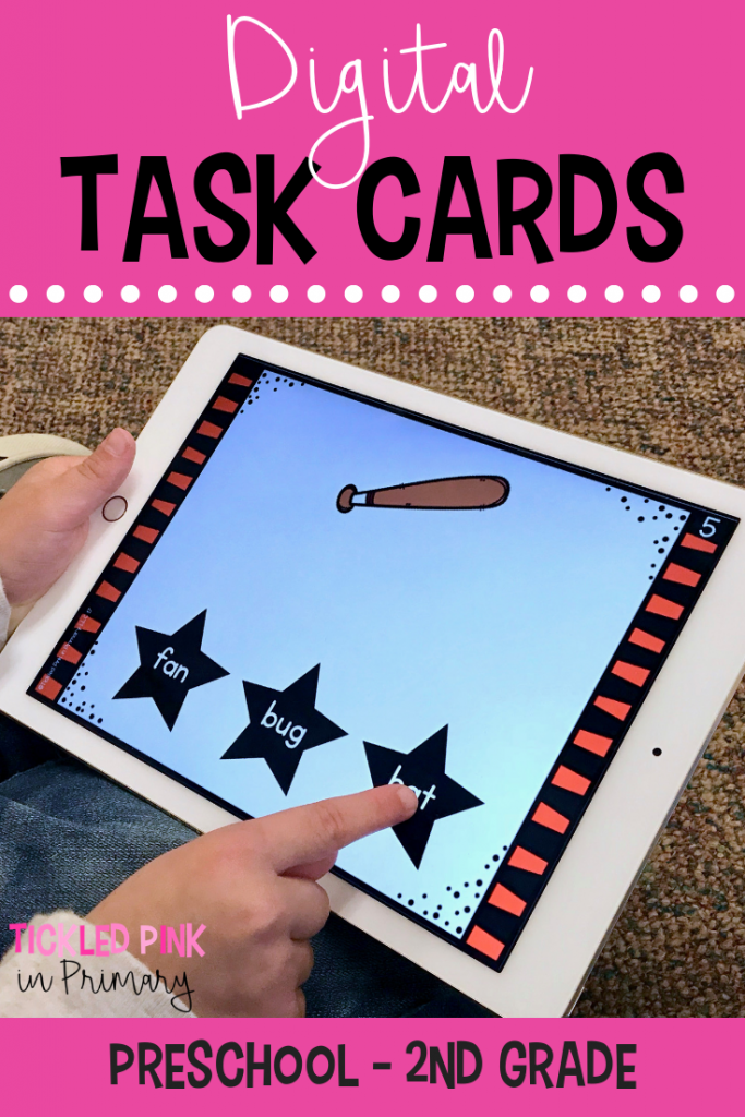 Technology In The Classroom - Digital Task Cards