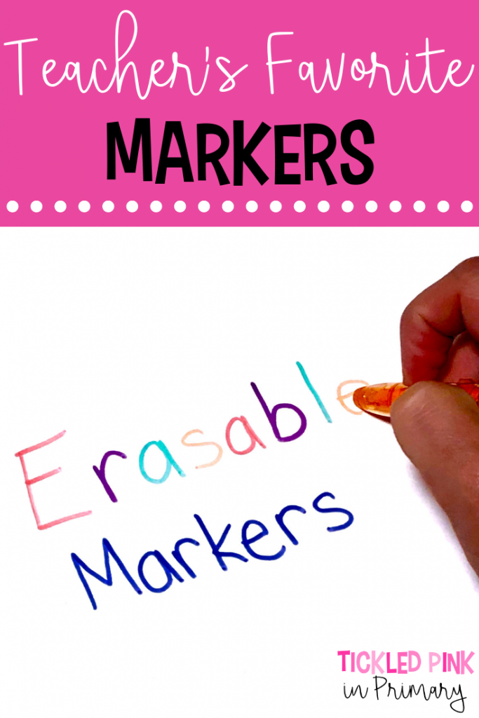 Gift Ideas For Teachers Favorite Markers