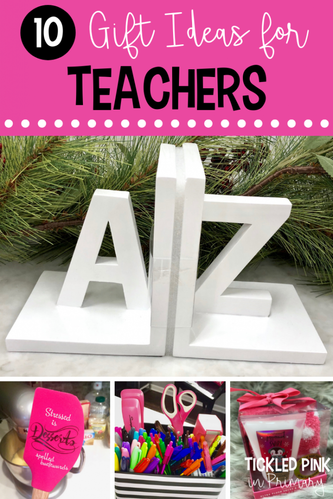Find end of the year teacher gift ideas for your co-works, student teacher, or child's teacher. Click to see them all! #endoftheyear #teachergifts #teacherappreciation
