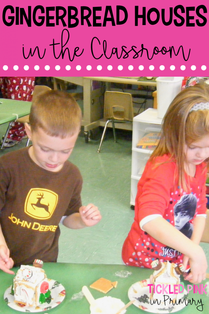 Ginger Bread Houses In The Classroom