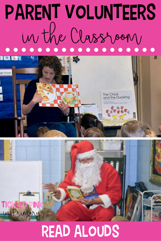 Parent Volunteers In The Classroom - Read Alouds