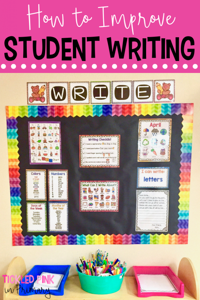 How to Improve Student Writing in the Classroom