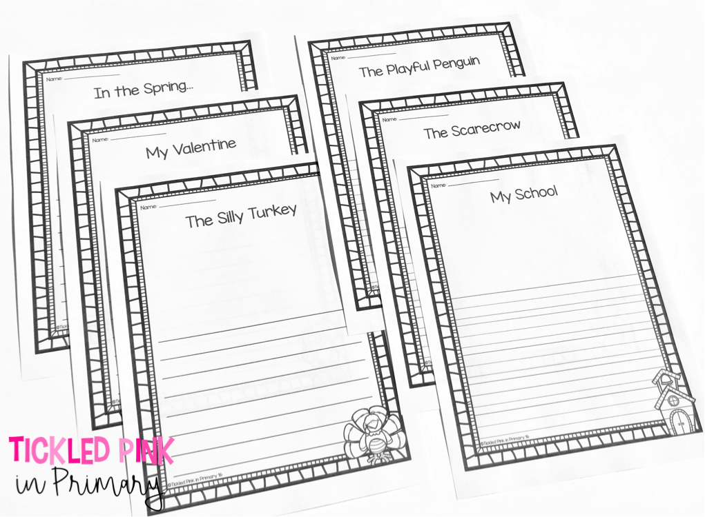 Writing in the Classroom - Writing Center Primary Bundle