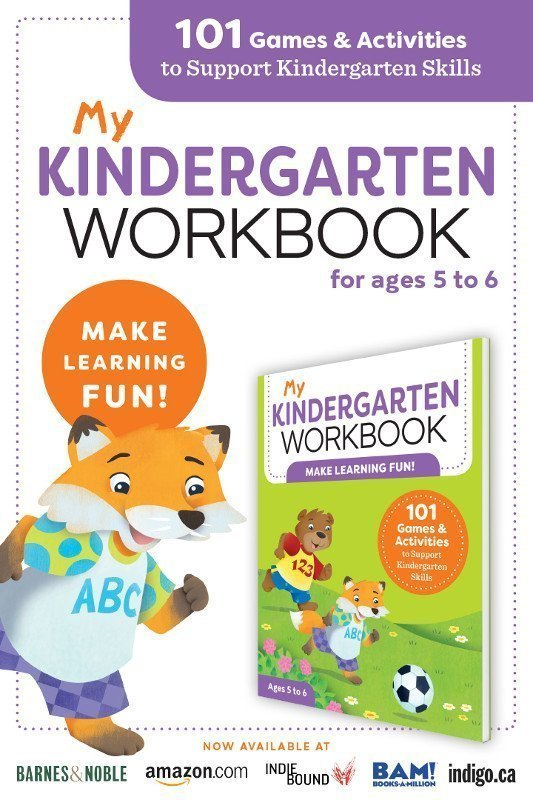 Kindergarten Workbook Front Cover