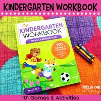 cover page of My Kindergarten Workbook