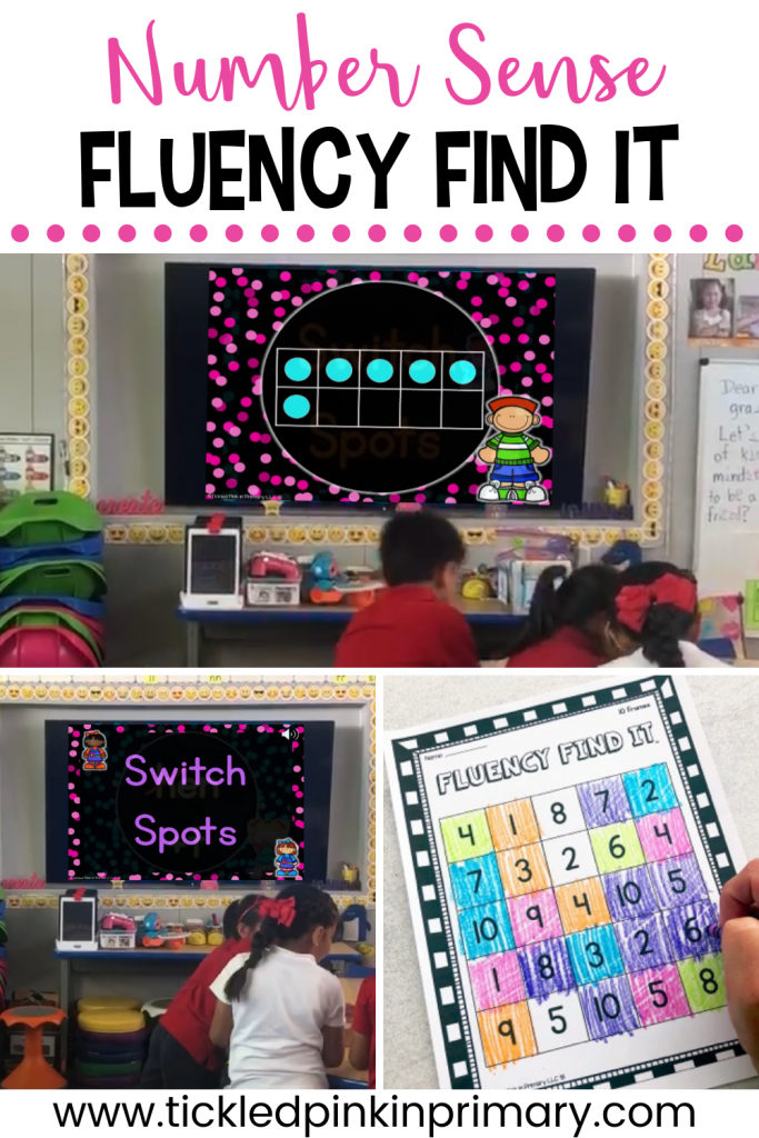 number sense activities to work on 10 frames