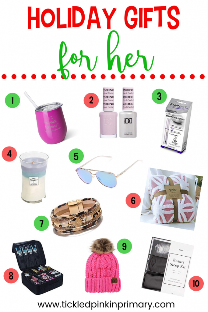 picture of 10 holiday gift ideas for HER