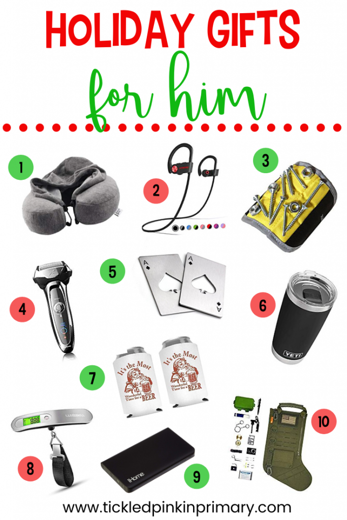 picture of 10 holiday gift ideas for HIM