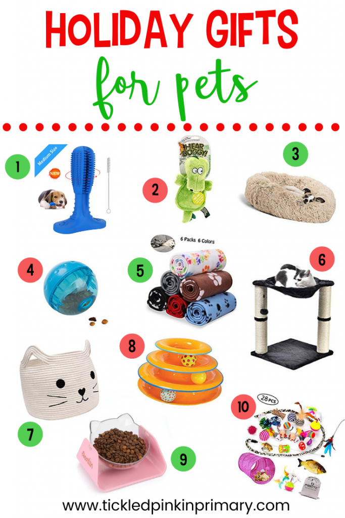 10 holiday gifts ideas for pets