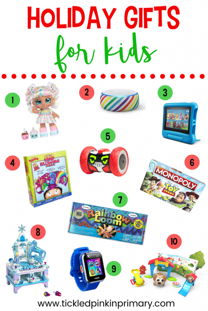 10 holiday gift ideas for kids