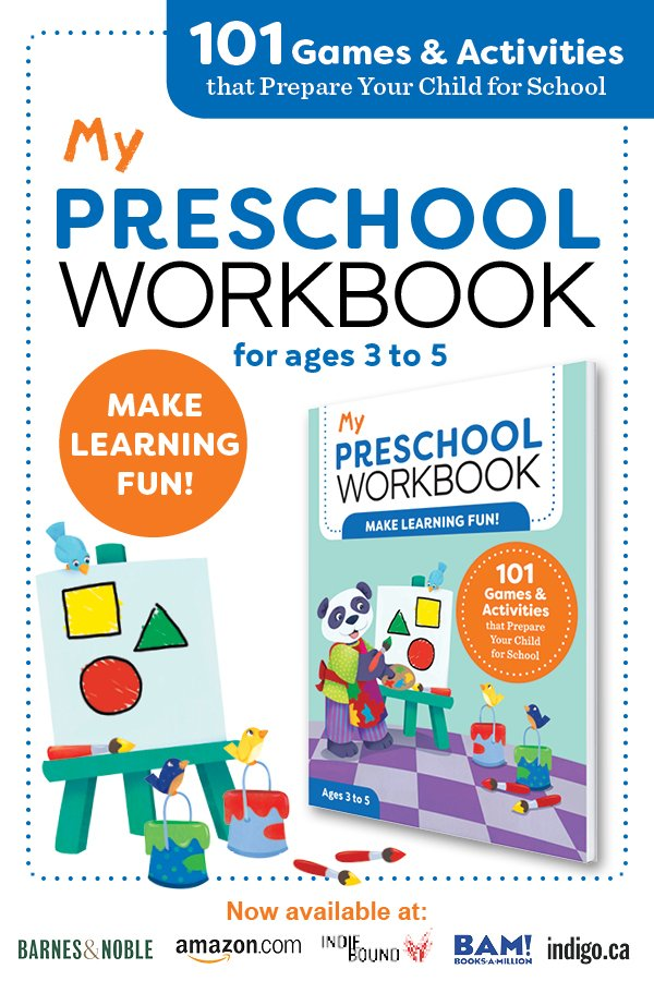 preschool workbook image